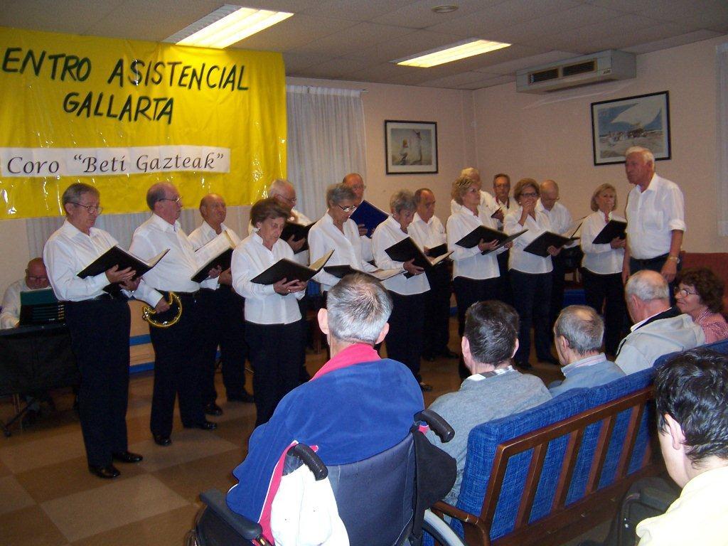 Actuación coro